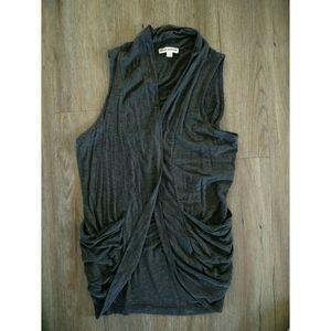 Zenana Outfitters | Grey vest